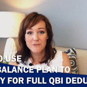 How to use a Cash Balance Plan to qualify for the full QBI deduction