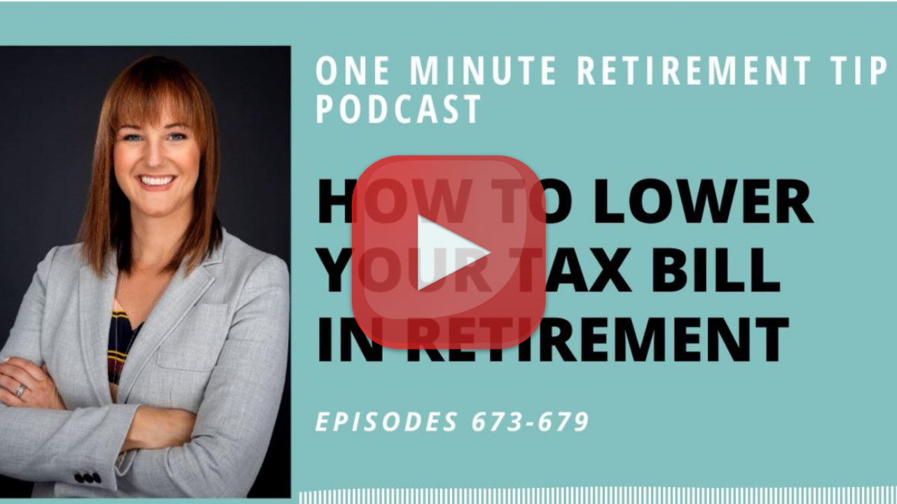 One Minute Retirement Tip Podcast