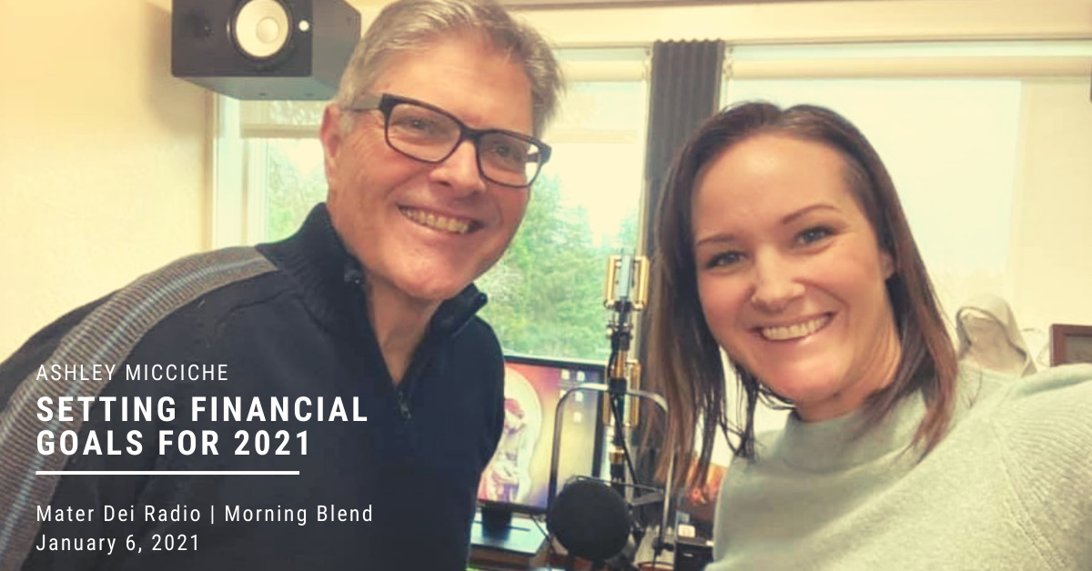Ashley Micciche on setting financial goals for 2021