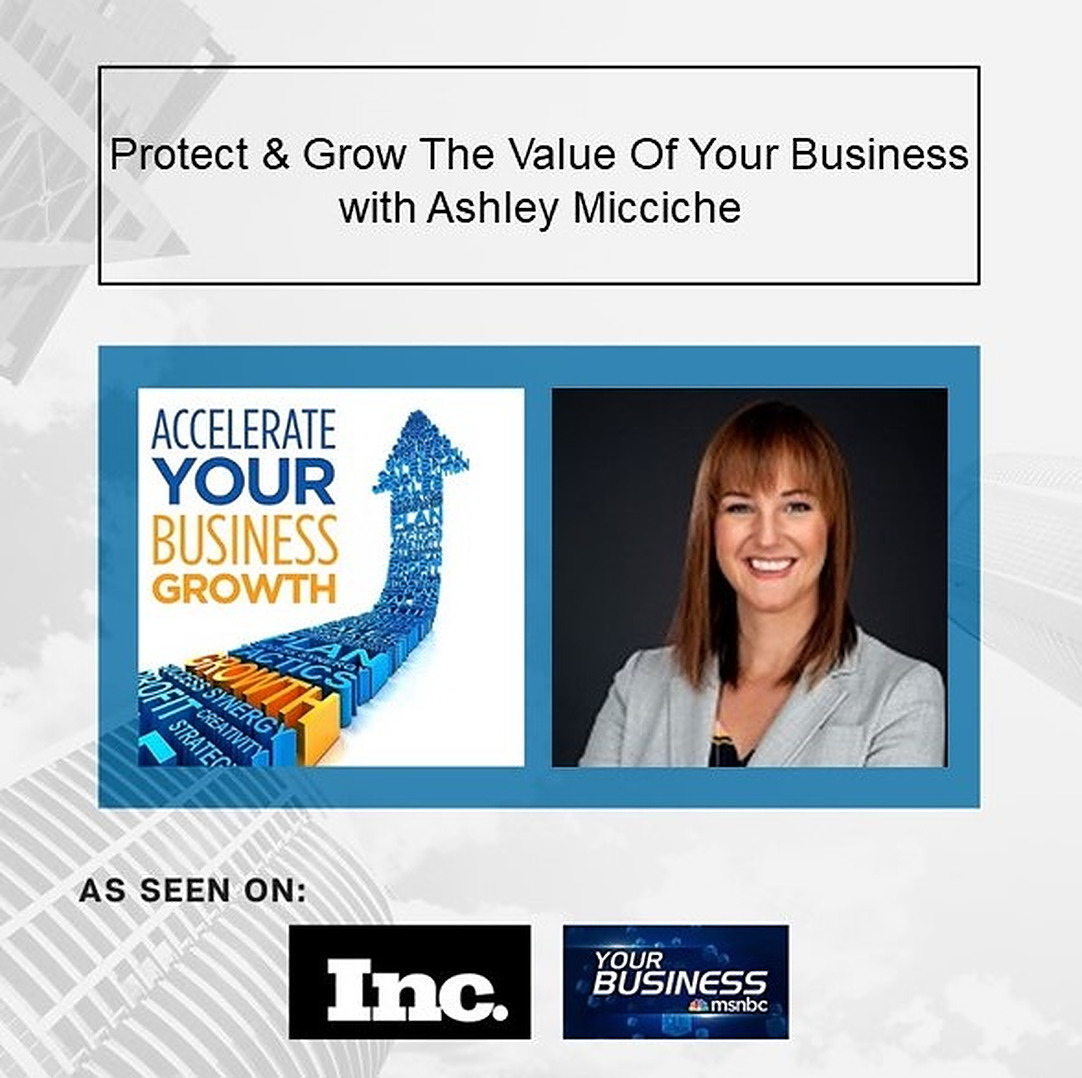 Ashley Micciche on growing your business value