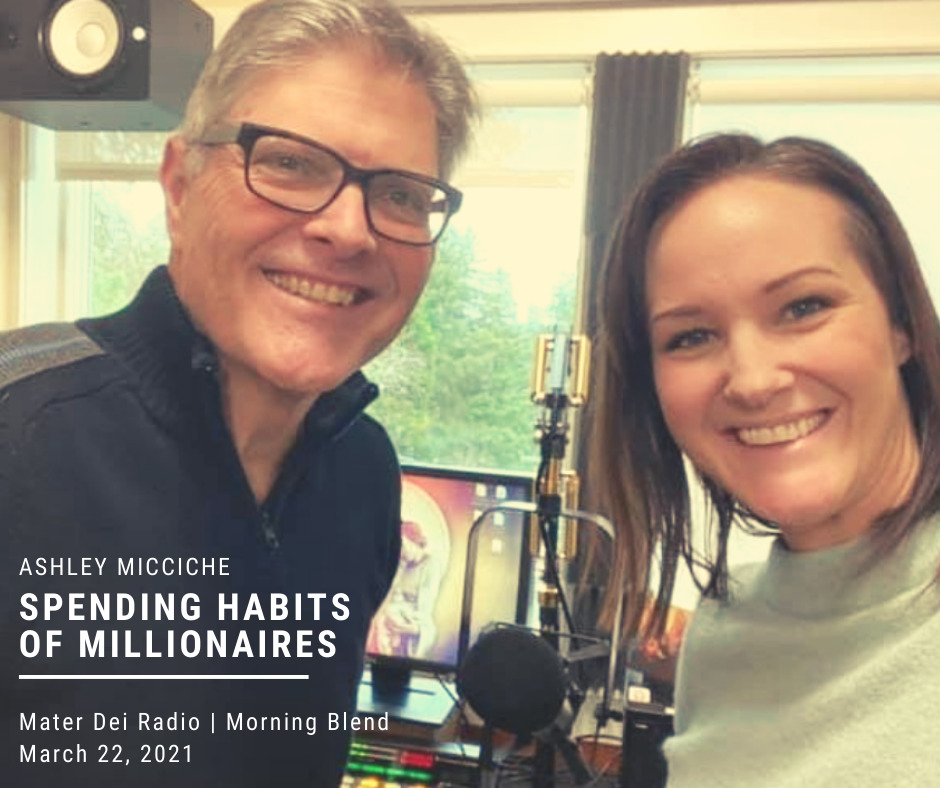 Ashley Micciche on Spending Habits Of Millionaires