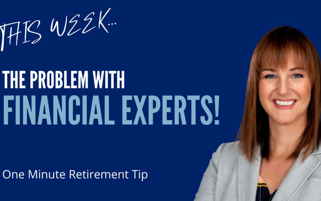 The Problem With Financial Experts!