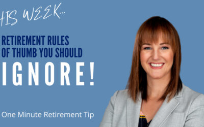 Retirement Rules Of Thumb You Should Ignore