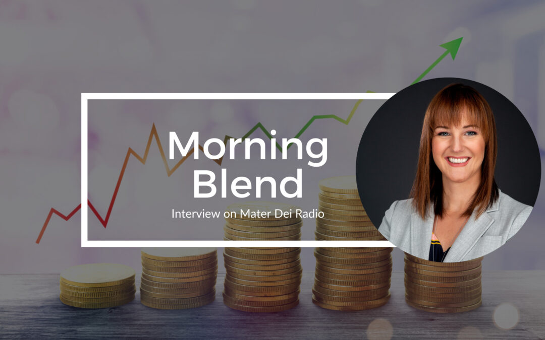Morning Blend on Mater Dei Radio: What Mark Twain Said About Money